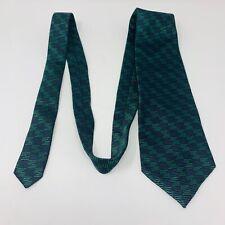 """PHILLIP ZEPTER TIE Mens Necktie 100% Silk Dark Green 57.75"""""""