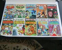 1st Issue Special DC Comic Book WOW LOT of 10 Kubert art 1-10 VF Bronze Age