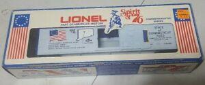 LIONEL SPIRIT OF 76 CONNECTICUT BOXCAR 6-7605
