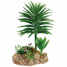 RepStyle Desert Plant with Rock Base Reptile Vivarium Bearded Dragon Decor 9cm
