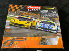 Carrera GO GT Contest Slot Car Race Track Set Corvette vs Ferrari 1:43 20062368