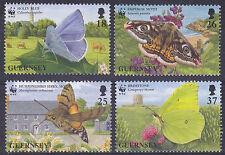 Guernsey 1997 Endangered Species - Butterflies Set UM SG730-3 Cat £2.75