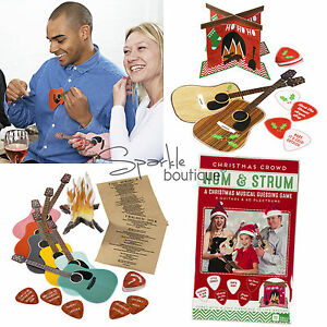 'HUM & STRUM' PARTY GAME - Christmas Musical Guessing Game - Name that Tune