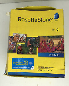 Chinese (Mandarin) Rosetta Stone Levels 1-5 Version 4 Totale With Activation Key