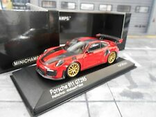 Porsche 911 991 gt2 rs MKII Facelift Carrera 2018 Rouge R Weissach MINICHAMPS 1:43
