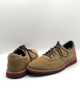 NEW BALANCE MD1100DB SHOE BROWN TAN SUEDE RED SOLE MEN'S SIZE US 8.5
