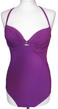 New Womens Purple NEXT Swimming Costume Size 34 A RRP £32