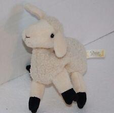 "GUND Babe Pig Movie MAA Lamb 7"" Plush Bean Bag SHEEP Stuffed Soft Toy Small"