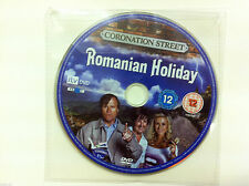 Coronation Street - Romanian Holiday DVD R2 PAL - DISC ONLY in Sleeve