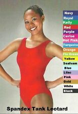 Leotard Dance Costume Spandex Tank Cheerleader Gymnastic Ballet Tap Clearance
