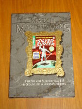 MARVEL MASTERWORKS #15 SILVER SURFER #1-5 GRAPHIC NOVEL HARDBACK 0871356317