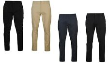 ✔ PIERRE CARDIN Herren Chino Hose Casual 30 32 34 36 38 40 Schwarz Blau Jeans