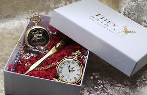 Personalised Merchant Navy Gold Pocket Watch Letter Opener Gift Set Engraved