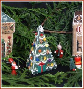 Village Christmas Tree - The Victoria Sampler New