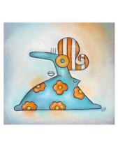 Abstrakte Deko-Bilder aus Papier