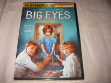 BIG EYES Amy Adams Christoph Waltz DVD Sealed NEW