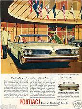 1959 Print Ad of Pontiac Catalina Car