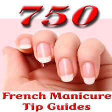 French Manicure tip guide tapes x 750