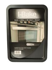 Non Stick Oven Tray / Swiss Roll Tin BAKE GRILL REHEAT ROAST 384x268x16mm I-Bake