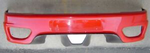 Ferrari 360 Modena, Spider: EURO Rear Bumper #64852800