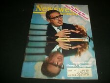 1969 DEC 22 NEWSWEEK MAGAZINE - HENRY KISSINGER - BEAUTIFUL FRONT COVER - A410