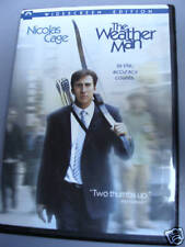 The Weather Man DVD 2006 Nicolas Cage Michael Caine
