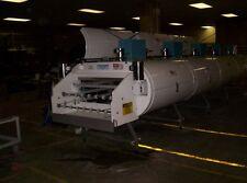 """IQF Cryogenic Tunnel Freezer 4 module 1 tier, UltraFreeze Nitrogen/CO2 30"""" belt"""