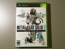 Metal Gear Solid 2 Substance Xbox Factory Sealed