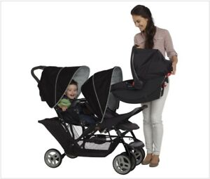 Graco Stadium Duo Tandem Pushchair new and boxed