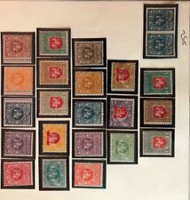 Lithuania #40-46 Complete Set 1919 MLH