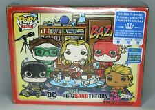 Big Bang Theory Bazinga SDCC 2019 Exclusive Unisex Pop Tee Lunchbox Size MEDIUM
