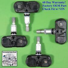 Set of 4 Acura Honda TIRE PRESSURE SENSOR TPMS OEM 42753-STK-A04 SET-TS58