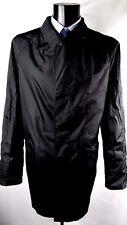 Aquascutum Noir Simple Boutonnage NEW Aquamac à trench manteau de pluie 36R BNWT