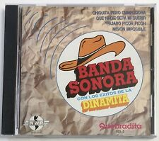 Banda Sonora Con Los Exitos De La Dinamita Quebradita Vol. 3 ULTRA RARE OOP CD