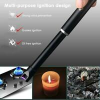 Candle Lighter USB Rechargeable Arc Lighter-Windproof Electric Kitchen Lighter