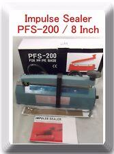 "8"" PFS-200 Hand Impulse Sealer  Heat Seal Plastic Poly Bag Closer Iron Shell"