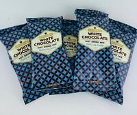 5 packets World Market White Chocolate Dulce De Leche Hot Cocoa Drink Mix 2.5 oz