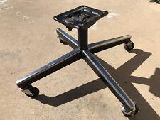 Knoll Pollock Executive Swivel Chair Vintage 4 star Base Chrome Black Part
