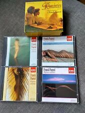 CAJA BOX 4 CD  FRANCK POURCEL - ROMANTICO Vol. 2 - PAGINAS CELEBRES - Nude cover