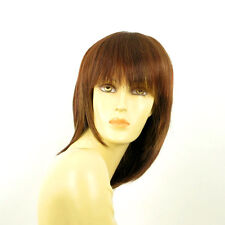mid length wig women brown copper wick light blond and red :FANNIE  33H  PERUK