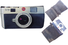 Tobacco Case Pouch Synthetic Leather Wallet Bag Smoke Rolling Camera Leica M9