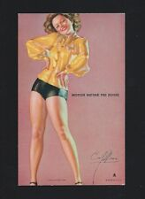 1940 - 1945 Mutoscope Hot Cha Girls Motion Before The House EXMT