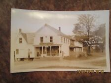 OLD PHOTO POST CARD BIRTHPLACE OF PRES COOLIDGE PLYMOUTH VERMONT UNUSED EXC COND