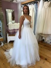 Sassi Holford 'Courtney' Princess Wedding Dress (Sample) UK Size 12 RRP £1,895