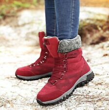 High Quality Leather Suede Winter Boots Shoes Snow Boots Women Boots Keep Warm