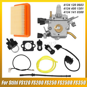 For Stihl FS120 FS200 FS250 FS250R FS350 Trimmer Brushcutters Carburetor K