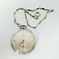 Vintage circa  1952 Pocket Watch Omega,