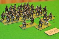 28mm napoleonic / portuguese - light infantry 36 figs - inf (47045)