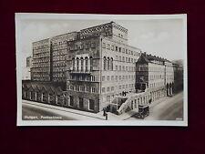 Ansichtskarte Stuttgart - Posthochhaus, Echtfoto um 1928