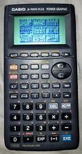 Casio Power Graphic Calculator fx-7400G Plus Handheld w/ Cover Works Good